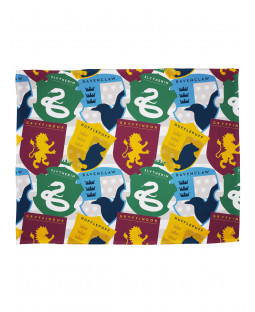 Harry Potter Stickers Fleece Blanket