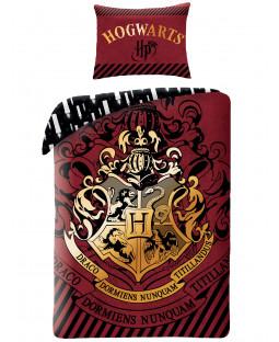 Harry Potter Hogwarts Crest Funda nórdica individual - Tamaño europeo