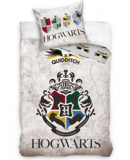Harry Potter Quidditch Single Duvet Cover and Pillowcase Set - European Size
