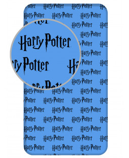 Harry Potter Blue Single Fitted Sheet