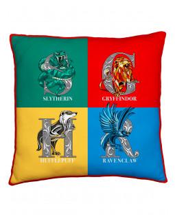 Harry Potter Grid Square Cushion
