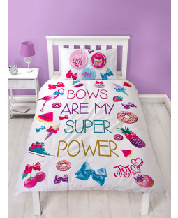 JoJo Siwa Super Single Duvet Cover Bedding Set