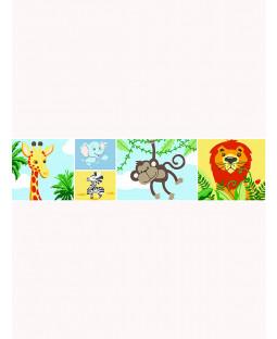 Bordo Carta da Parati Jungle-Tastic Right Right Home - A129.aa