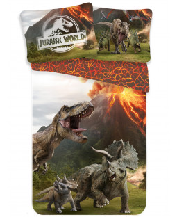 Jurassic World Single Cotton Duvet Cover Set - European Size