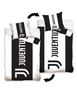 Juventus FC Stripe Single Cotton Duvet Cover Set