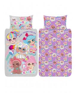 Kindi Kids Single Duvet Cover and Pillowcase Set