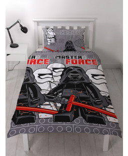 4a4ba2f699d Lego Star Wars Seven Single Reversible Duvet Cover Set