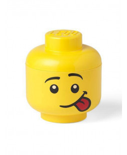 Lego Small Storage Head - Silly Face