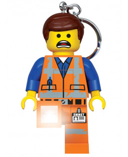Lego Movie 2 Emmet Keylight Keyring