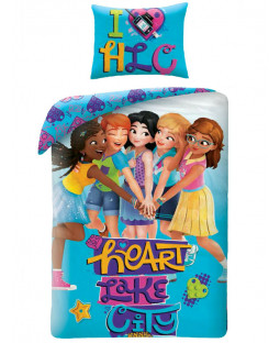 Lego Friends Single Cotton Duvet Cover Set
