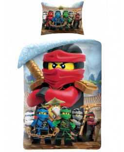 Lego Ninjago Single Cotton Duvet Cover Set