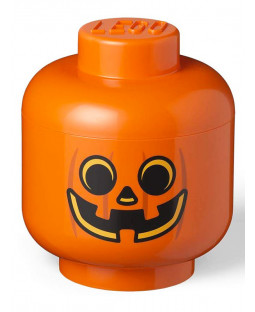 Lego Large Pumpkin Storage Head