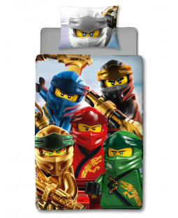 Lego Ninjago Lightning Single Panel Duvet Cover Set