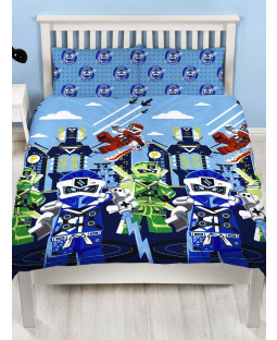 Lego Ninjago Lightning Double Duvet Cover Set