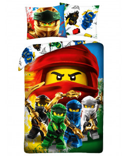 Lego Ninjago Single Cotton Duvet Cover Set - European Size