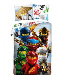 Lego Ninjago Wu 100% Cotton Single Duvet Cover Set