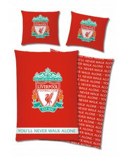Liverpool FC YNWA Single Duvet Cover and Pillowcase Set - European Size