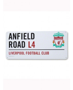 Liverpool FC 'Anfield Road' Street Sign