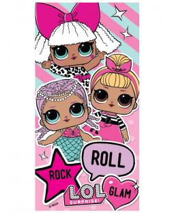 LOL Surprise Rock Roll Glam Beach Towel