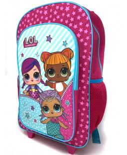 LOL Surprise Deluxe Backpack Trolley Bag