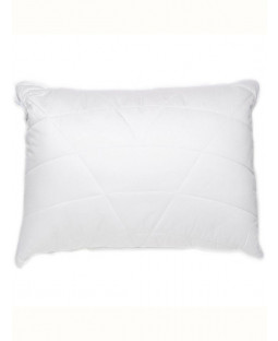 Luxury Quilted Box Bamboo Anti-Bacterial Hypo-Allergenic Pillow - Firm