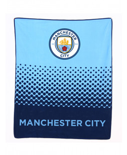 Manchester City FC Fade Fleece Blanket
