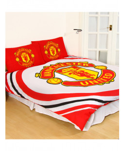 Manchester United FC Pulse Double Duvet Cover and Pillowcase Set