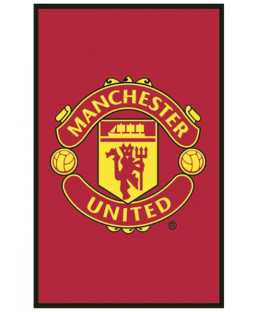 Manchester United FC Crest Tappeto