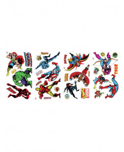 Marvel Comics Room Decor Wall Sticker Kit