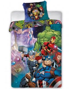 Marvel Avengers Single Duvet Cover Set - European Size