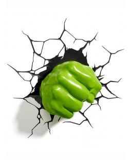 Applique LED 3D Marvel Hulk Fist