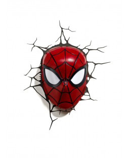 Marvel Spiderman 3D LED Wall Light