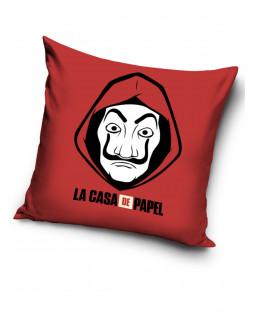 Money Heist La Casa De Papel Red Cushion