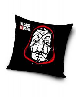 Money Heist La Casa De Papel Black Cushion
