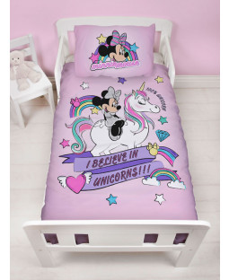 Minnie Mouse Believe Junior Duvet Cover and Pillowcase Set
