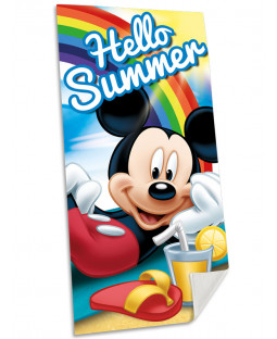 Mickey Mouse Summer Beach Towel