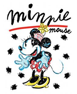 Minnie Mouse Retro Fleece Blanket