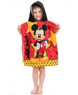 Mickey Mouse Star Hooded Towel Poncho
