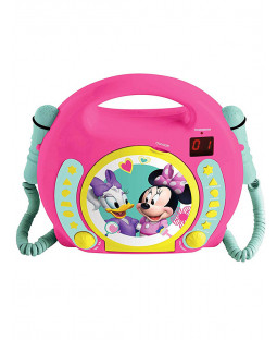 Minnie Mouse CD Player with Microphones
