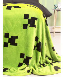 Minecraft Creeper Blanket