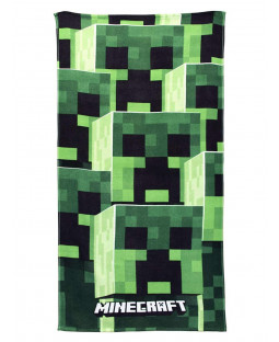 Asciugamano da spiaggia Minecraft Tower
