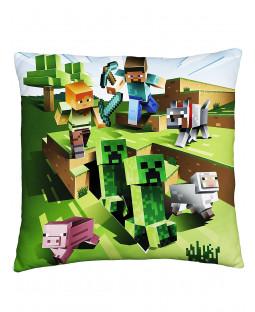 Cojín cuadrado Minecraft Farm