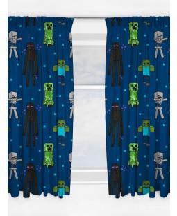 Minecraft Creeps Curtains 54 Inch Drop