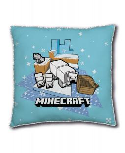 Minecraft Polar Bear Square Cushion