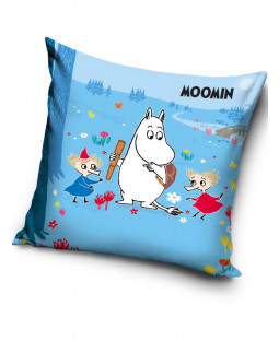 Moomin Blue Filled Cushion