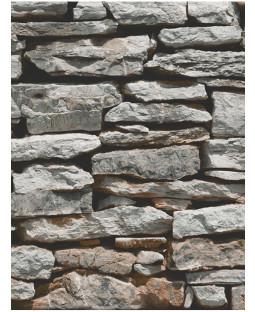Papel pintado de piedra de pizarra natural de la pared marroquí - Arthouse 623000