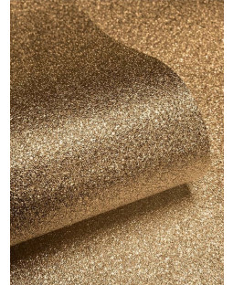 Sparkle Glitter Effect Wallpaper  - Gold - 701354 Muriva