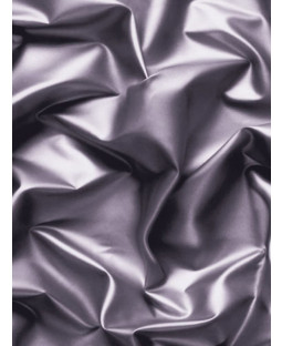 Muriva Gathered Silk Effect Wallpaper - Grey / Black - F72909