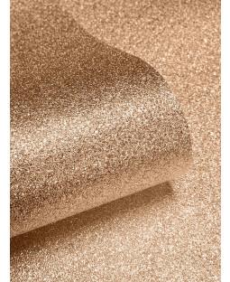 Textured Sparkle Wallpaper - 701374 - Copper