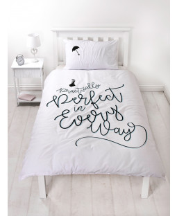 Mary Poppins Perfect Single Duvet Cover Bedding Set